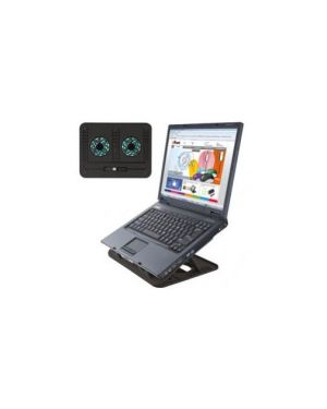Supporto notebook cyclone cooling stand trust 17866_67702 by Trust