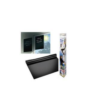 Rotolo 25fg elettrostatici 60x80cm nero magic chart 159200_67704 by Legamaster