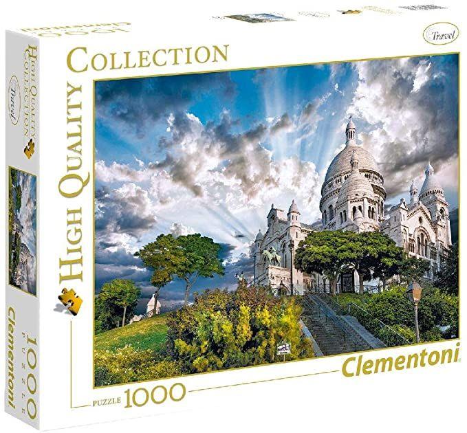 1000pz-  montmartre Clementoni 39383 8005125393831 39383 by No