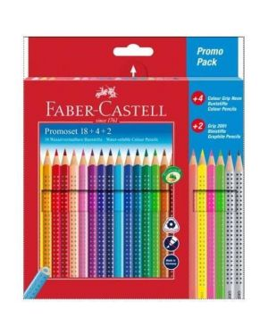 +4+2 matite acq grip ass Faber Castell 201540 4005402015405 201540