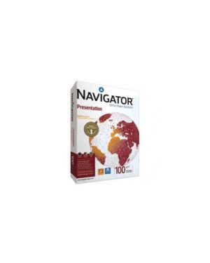 Carta navigator presentation a4 100gr 500fg 210x297mm Confezione da 5 pezzi 02 A4 100 NAV_67788 by Navigator