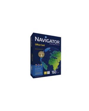 Carta navigator office card a4 160gr 250fg 210x297mm Confezione da 5 pezzi 02 A4 160 NAV_67790 by Navigator