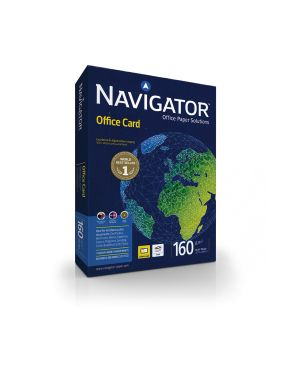 Carta navigator office card a4 160gr 250fg 210x297mm 02 A4 160 NAV 5602024381377 02 A4 160 NAV_67790 by Navigator