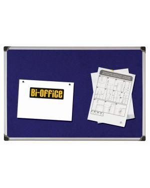 Pannello in tessuto 90x120cm blu felt board bi-office FA0543178 5603750355694 FA0543178_67796