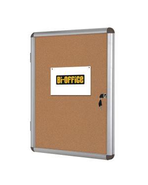 Bacheca per interni fondo sughero 6xa4 orizzontale bi-office VT620101150 5603750521013 VT620101150_67808