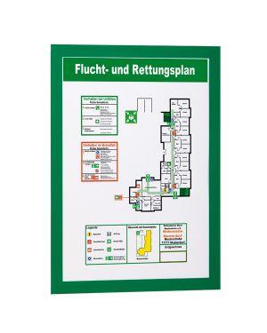 Cornice magnetica duraframe a4 21x29,7cm verde durable CONFEZIONE DA 2 4872-05_67824 by Esselte