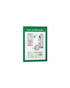 Cornice magnetica duraframe a4 21x29,7cm verde durable Confezione da 2 pezzi 4872-05_67824