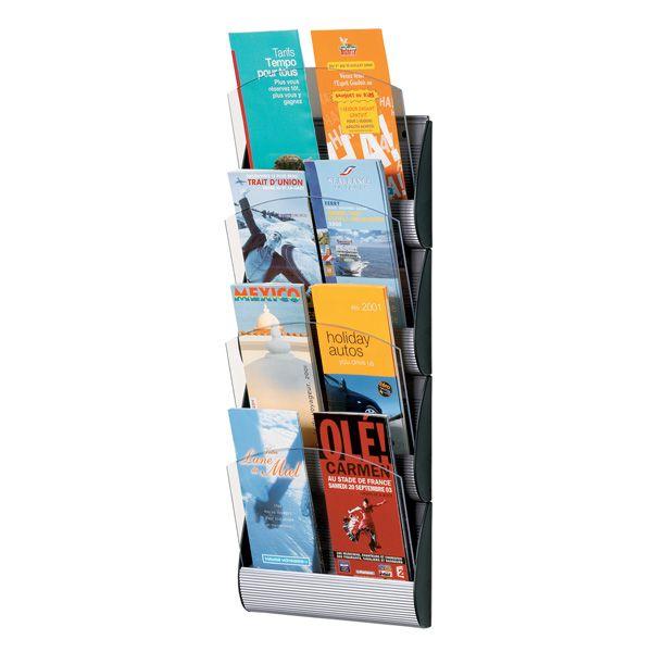 Espositore da parete a 4 tasche a5 maxi system K540655 3660141239157 K540655_67860 by Paperflow