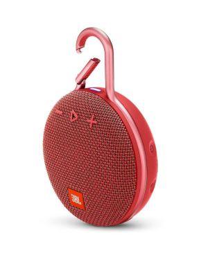 Sp clip 3 mic - tel ipx7 rosso JBL JBLCLIP3RED 6925281933042 JBLCLIP3RED