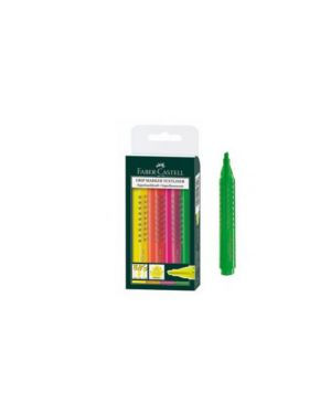 Busta 4 evidenziatore grip 1543 faber-castell 154304_68079 by Faber-castell