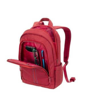 Laptop canvas backpack 15.6 red Rivacase 7560RED 4260403570050 7560RED