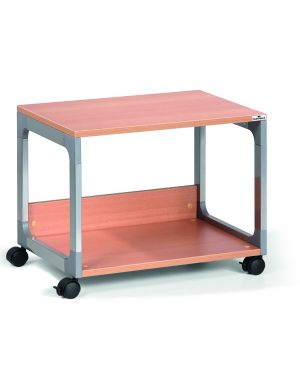 Mobile - carrello multifunzione system 48 argento - faggio 3710-124 4005546301839 3710-124_68258