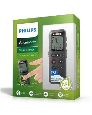 Dvt1150 mono rec 4gb usb 2.0 nero Philips DVT_1150 9120056500765 DVT_1150