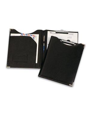 Portablocco in similpelle nero 24x31cm con tasca art.247 niji 247-N 8002787019192 247-N by Niji Italiana