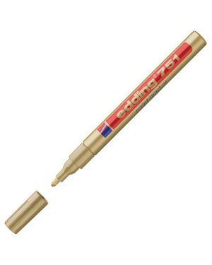 Marcatore edding 751 punta fine vernice oro E-751 053 4004764498093 E-751 053