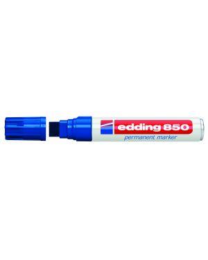 Marcatore edding 850 blu ps 5-16mm permanente E-850 003 4004764054350 E-850 003