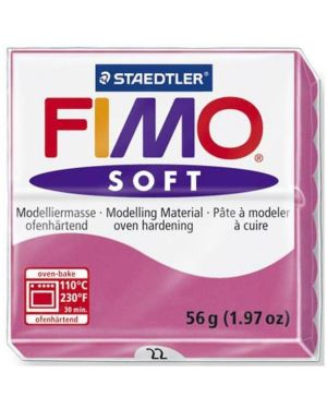 Fimo soft 57 g  lampone Fimo 8020-22 4006608809478 8020-22 by Fimo