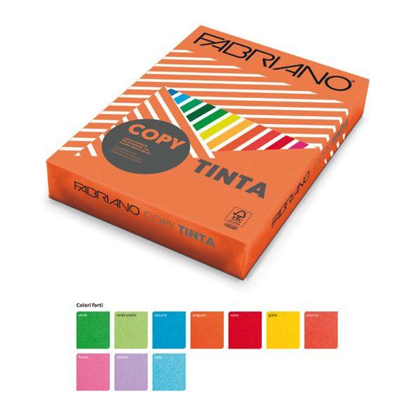 Carta copy tinta a3 160gr 125fg col.forti giallo fabriano 60216042 8001348154136