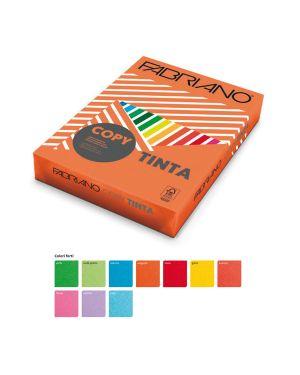 Carta copy tinta a3 160gr 125fg col.forti arancio fabriano 60416042_68440