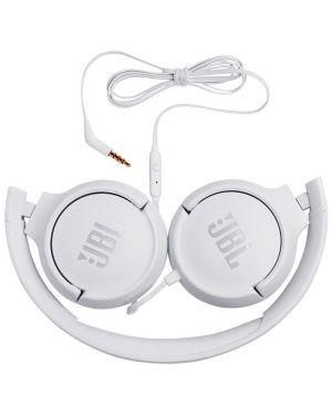 Cuffie archetto micr univ bianco JBL JBLT500WHT 6925281939938 JBLT500WHT