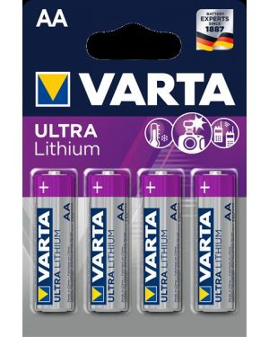 Aa   litio x4    conf.da 4 Varta 6106301404 4008496680511 6106301404