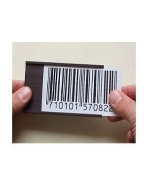 Blister 20 portaetichette magnetiche 40x75mm markin Y230CP07540 8007047047540 Y230CP07540_68667