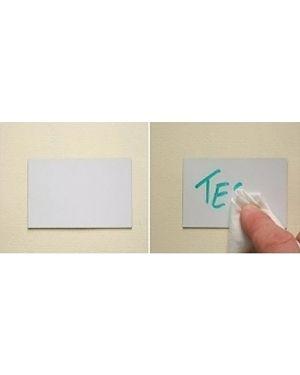 Blister 20 etichette magnetiche 60x100mm scrivibili e cancellabili markin Y233SC10060 8007047047700 Y233SC10060_68673 by Markin