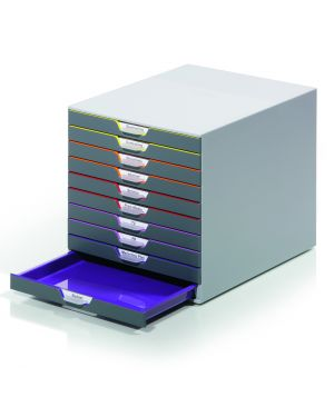 Cassettiera a 10 cassetti varicolor durable 7610-27 4005546701615 7610-27_68814 by Durable