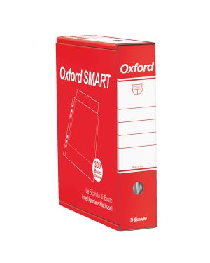 Scatola 6x50 buste forate 22x30 lucida de luxe oxford smart esselte 391098500 8004157098509 391098500_68952