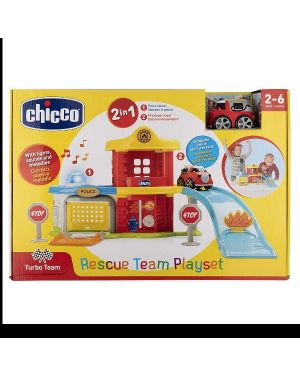Gioco rescue team playset Chicco 935800 8058664088416 935800 by No