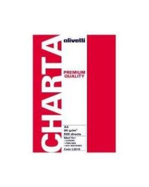 Carta a4 80gr. 500fg confezione 5pz Olivetti L3619-5 8020334314569 L3619-5