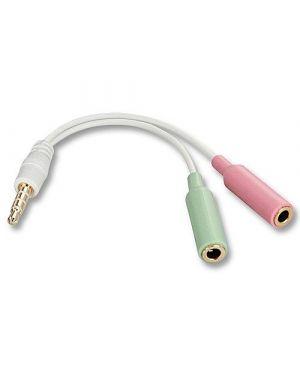 Adattatore cuffie mic iphone Lindy 35523-LND 4002888355230 35523-LND