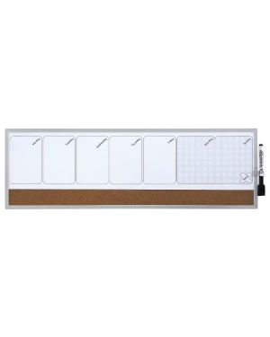Planning settimanale magnetico20x60 Nobo 1903780 5028252344418 1903780_70304