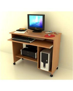 Computer desk  col noce chiaro Artexport 60006/4 2999999002318 60006/4 by Artexport