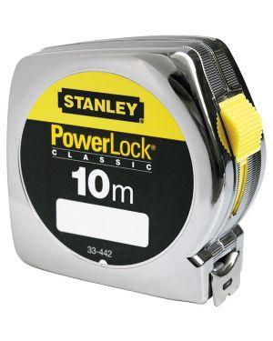 Flessometro powerlock 10mt stanley M33442 3253560334420 M33442_70725 by Stanley