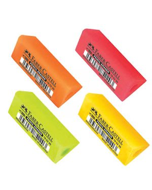 Gomma faber castell fantasia fluo prisma - 20 pz. 20 FABER CASTELL 185213 9556089852210 185213_70752 by No