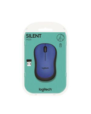 M220 silent mouse blue Logitech 910-004879 5099206066205 910-004879