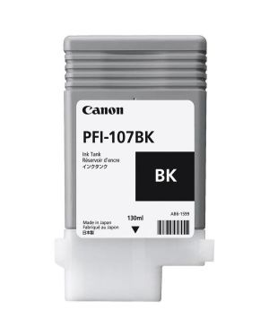 Serbatoio nero pfi-107 bk Canon 6705B001AA 4960999910949 6705B001AA