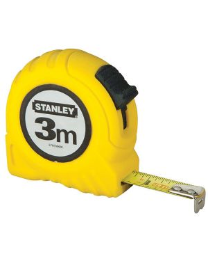 Flessometro 3mt metallo - abs stanley M30487 3253560304874 M30487_71149 by Stanley