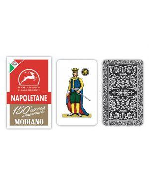 Carte napoletane rosso 150 modiano pz.40 MODIANO 300080 8003080000801 300080 by No