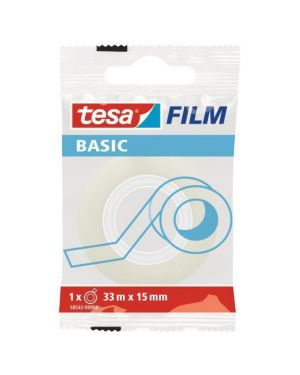Tesabasic 15x33m in flawpack Tesa 58542-00000-00 4042448262301 58542-00000-00