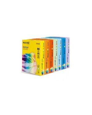Carta iq color a4 210x297mm 80gr 250fg mix 5 colori tenui rb01 mondi 3860_71497