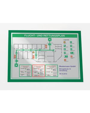 Cornice magnetica duraframe a3 - 29,7x42cm verde durable 4873-05 71566 A 4873-05_71566 by Durable
