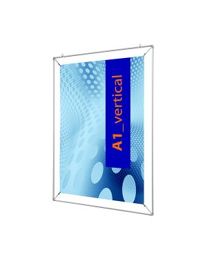Cornice con pinze x f.to 50x70cm poster stretch PSO50x70 71594. PSO50x70_71594