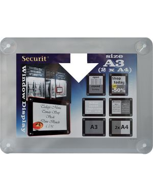 Display informativo a ventose x f.to a3 grigio PFW-A3-GY 8717624248351 PFW-A3-GY_71599 by Securit