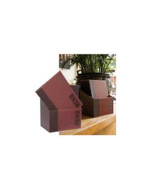 Menu-box trendy con 20 porta menu' bordeaux MC-BOX-TRA4-WR 8717624245176 MC-BOX-TRA4-WR_71607