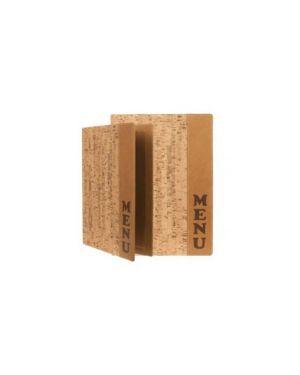 Porta menu' a4-24x34cm sughero design con 1 inserto doppio MC-DRA4-CORK 8717624247019 MC-DRA4-CORK_71608