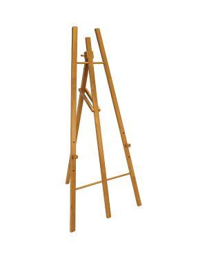 Cavalletto in legno teak h165cm securit EZL-TE-165 8717624244094 EZL-TE-165_71636 by Securit