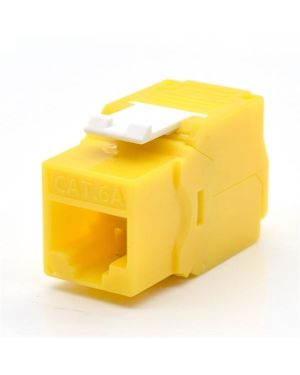 Keystone cat.6a utp tool less WP Europe WPC-KEY-6AUP-TL/Y 8054392615467 WPC-KEY-6AUP-TL/Y
