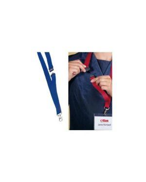 10 cordoncini portabadge 20mm blu durable 8137-07_71692 by Esselte